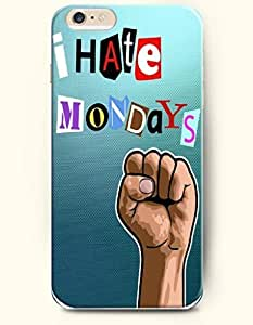 SevenArc New Apple iPhone 6 ( 4.7 Inches) Hard Case Cover - I Hate Mondays