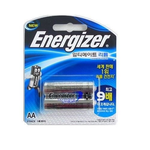 Energizer Lithium Battery Ultimate L91BP2 'AA'