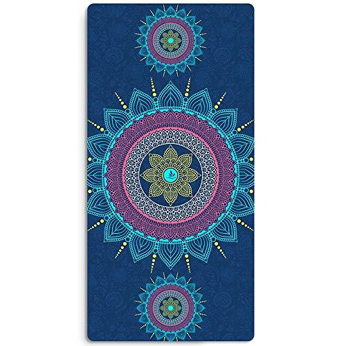 LULIN Non-Slip Yoga mat Print Design Fitness Home Exercise mat, Super Breathable Sweat