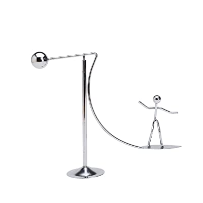 THY COLLECTIBLES Kinetic Art Balance Toy - Physics Dynamic Motion Balancing Desk Toy Home Office Decoration Surfing: Toys & Games