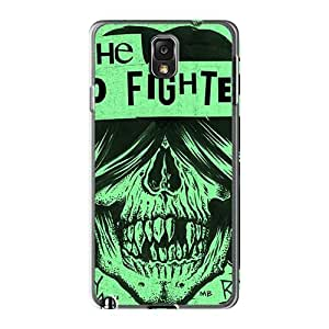 Protector Cell-phone Hard Covers For Samsung Galaxy Note3 (rXW7857JtZv) Provide Private Custom Trendy Foo Fighters Band Pattern