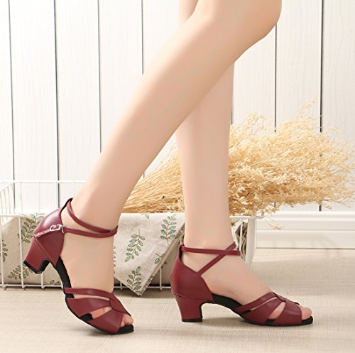 Heel Jazz 5cm 4 Donna e Moderno Joymod MGM Red CO86w6