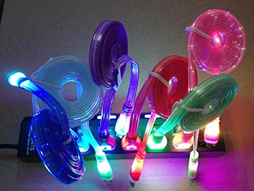 COLOR CHANGES LIGHTS Charger iPhone product image