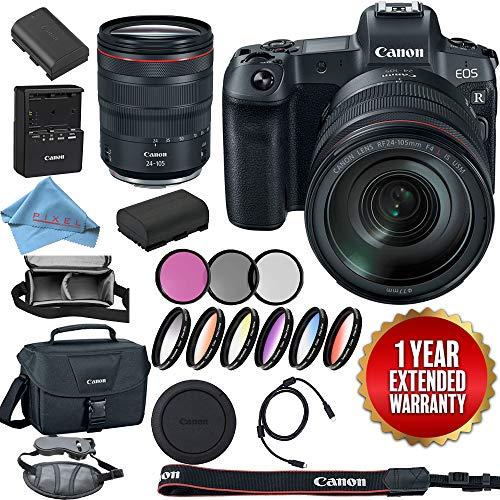 Canon EOS R Mirrorless Digital Camera 3075C002 + Canon RF 24