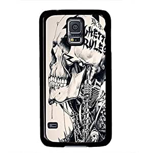 iCustomonline Caveira Case for Samsung Galaxy S4 PC Black
