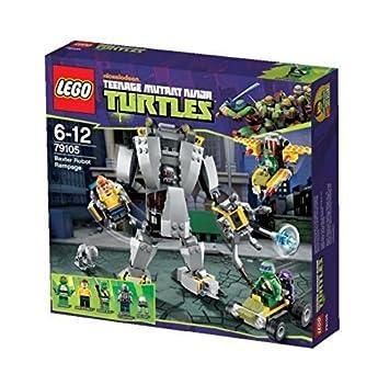 LEGO Teenage Mutant Ninja Turtles Baxter Robot Rampage Game: Amazon ...