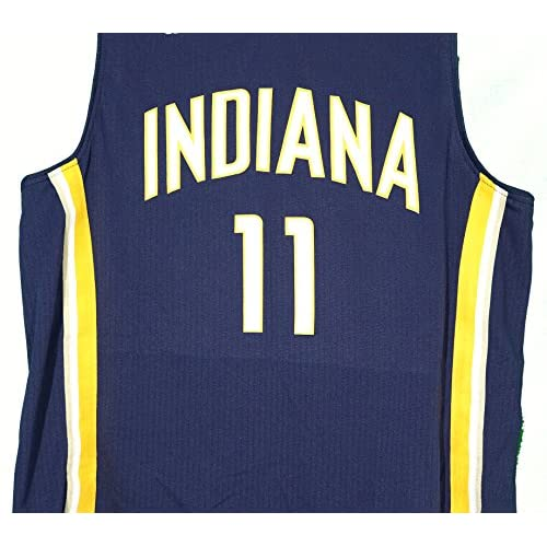 new product 379a9 5ad43 Domantas Sabonis Indiana Pacers Signed Autographed Blue #11 ...