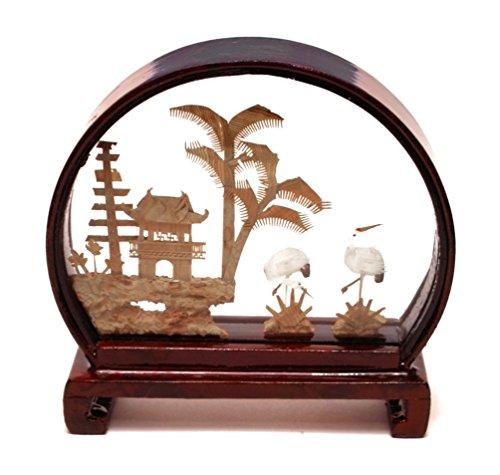 5401010 Mini Garden View - Chinese Cork Sculptures