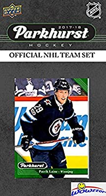 Winnipeg Jets 2017/18 Upper Deck Parkhurst NHL Hockey EXCLUSIVE Limited Edition Factory Sealed 10 Card Team Set including Blake Wheeler,Dustin Byfuglien all the Top Stars & RC's! WOWZZER!