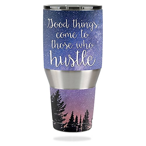 40 Ounce Vinyl (Skin For Ozark Trail 40 oz Tumbler – Hustle | MightySkins Protective, Durable, and Unique Vinyl Decal wrap cover | Easy To Apply, Remove, and Change Styles | Made in the USA)