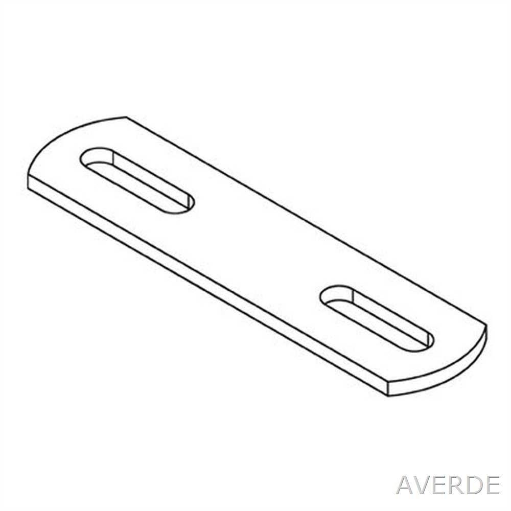 AVERDE Steg fü r Bü gelschrauben, 3/4' (26,9 mm).1' (33,7 mm) - M8 3/4 (26 9 mm).1 (33