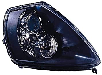 Depo 314 1132PXAS2 Mitsubishi Eclipse Black Headlight Assembly Projector