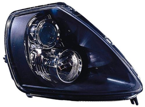 Mitsubishi Eclipse Gts - Depo 314-1132PXAS2 Mitsubishi Eclipse Black Headlight Assembly Projector