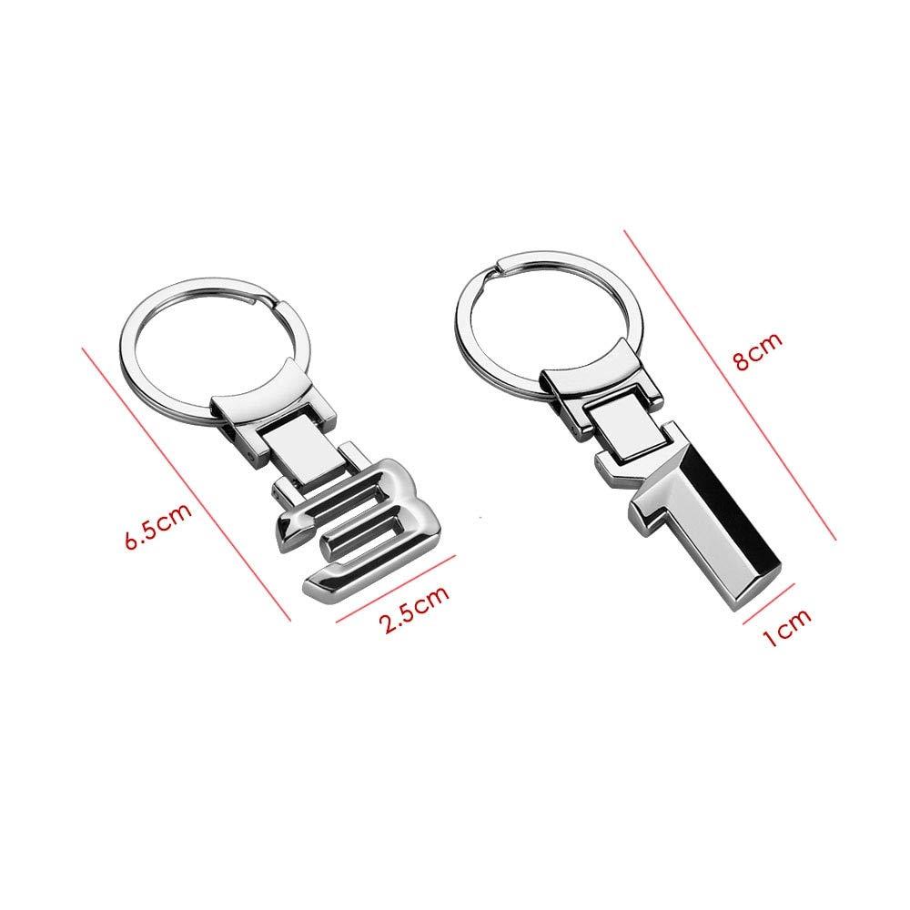 Wall of Dragon Zinc Alloy Metal Auto Car Keychain Keyring Key Ring Holder