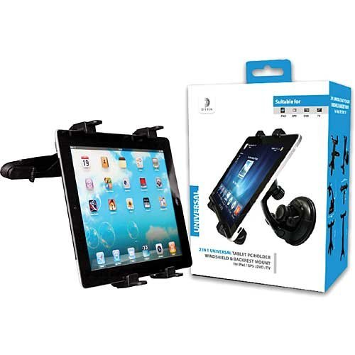 DELTON Headrest Mount for All Tablets (DCHUNITAB)