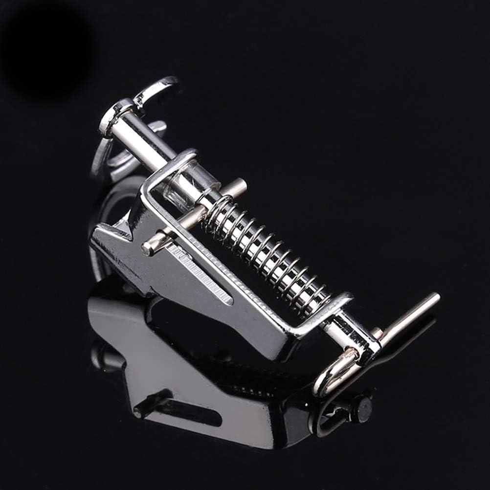 Artibetter Gran zurda de Metal Movimiento Libre para acolchar el pie prensatelas de la m/áquina de Coser para Uso dom/éstico Plata