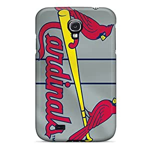 Best Hard Phone Cover For Samsung Galaxy S4 With Unique Design Trendy St. Louis Cardinals Image PhilHolmes