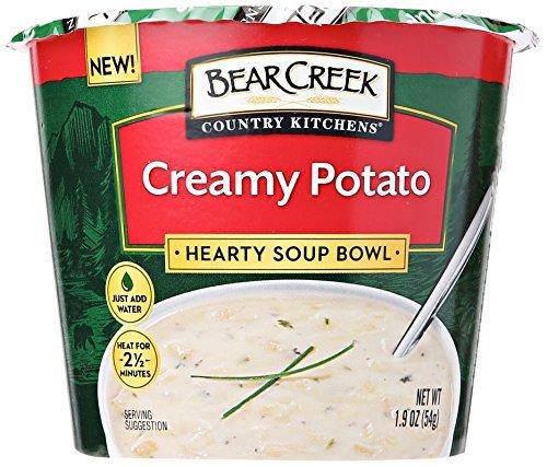 Bear Creek Hearty Soup Bowl, Cheddar Potato, 1.9 Ounce -