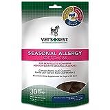 Vet's Best Seasonal Allergy Soft Chews Dog Supplements, 30 Day Supply
