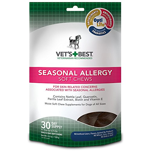 Vets Best Seasonal Allergy Supplements product image