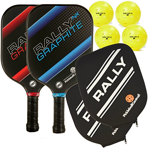 Rally NX Graphite Pickleball Paddle...