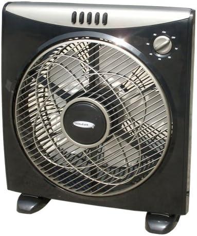 Amazon Com Soleus Air Fb1 30 20 12 Inch Box Fan Home Kitchen