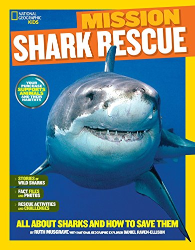 National Geographic Kids Mission: Shark Rescue: All About Sharks and How to Save Them (NG Kids Mission: Animal Rescue) by National Geographic Children's Books (Image #6)