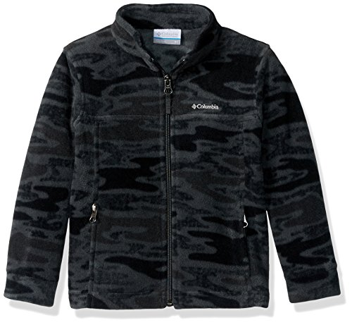 Columbia Camo Jackets (Columbia Big Boys' Zing Iii Fleece Jacket, Grill Camo, X-Small)