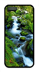 iPhone 5s Cases & Covers - Rivers Wonders Custom TPU Soft Case Cover Protector for iPhone 5s - Black