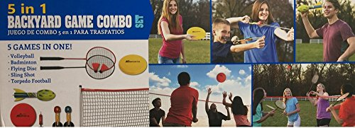 5 in 1 Backyard Game Combo Set