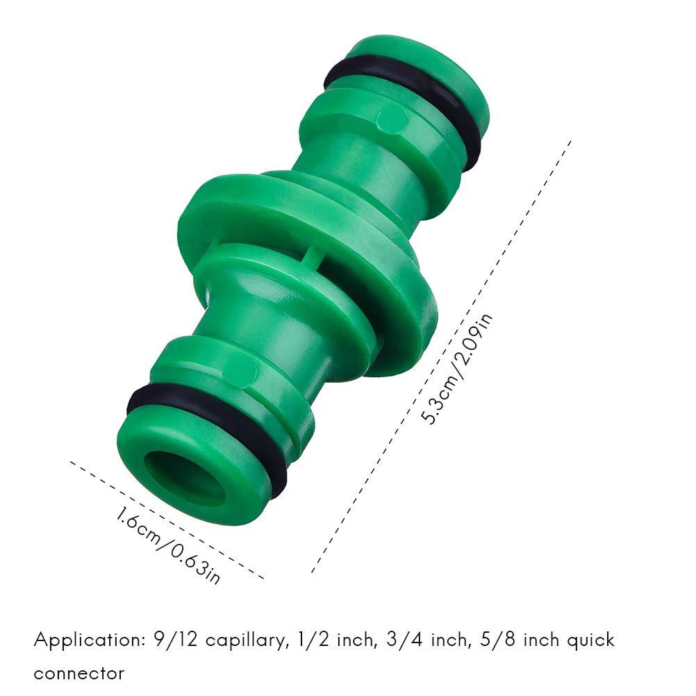 Daxoon 6 Conectores Dobles para Manguera de jard/ín