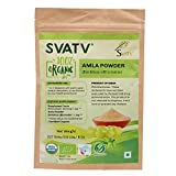 SVATV Organic Amla Powder(Emblica officinalis/Amalaki)1/2 LB, 08 oz, 227g USDA Certified Organic- Biodegradable Resealable Zip Lock Pouch Review