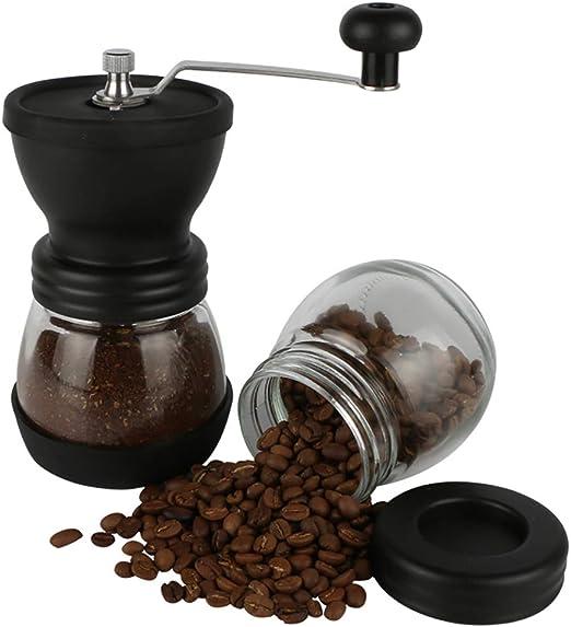 WYXR Cafetera portatil cafetera expreso capsulas cafetera Express portatil Cafetera portátil operada manualmente Máquina de café Espresso Mini cafetera: Amazon.es: Hogar