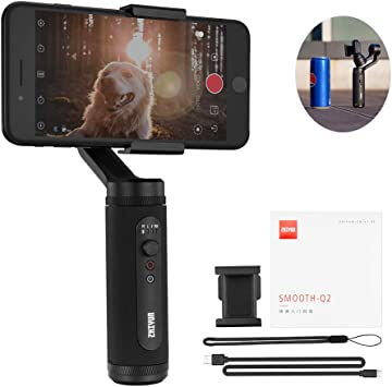 Zhiyun Smooth Q2 Official 3-Axis Handheld Smartphone Gimbal Stabilizer