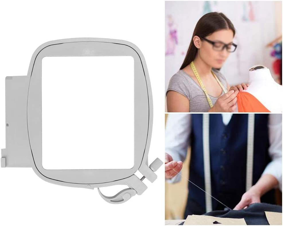 Sewing Machine Square Hoop 3.1x3.1in Multifunction Durable Plastic Square Hoop for Small Embroidery