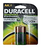 Duracell Rechargeable AA Batteries 16 Count (Packs of 2)