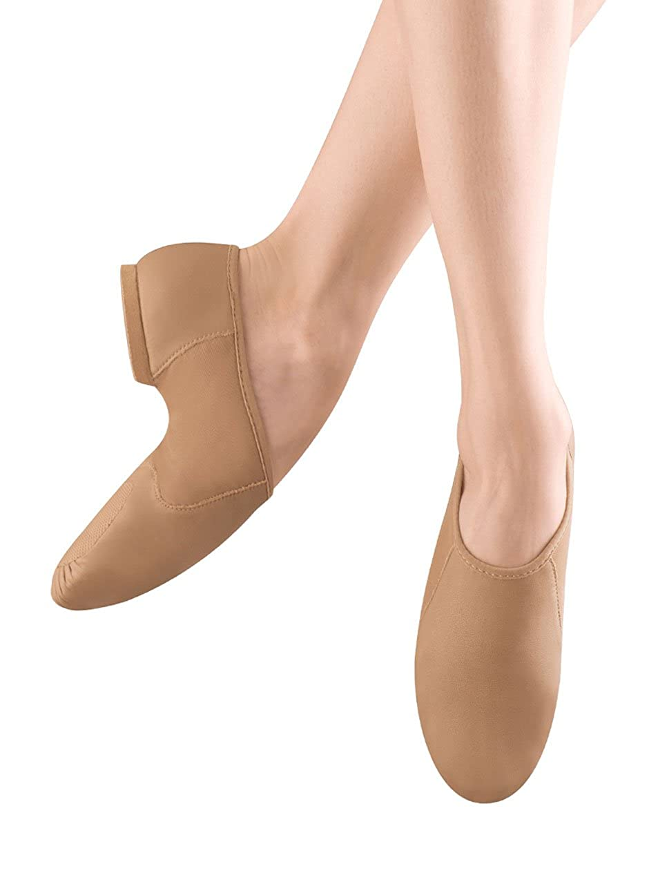 Bloch Dance Neo-Flex Slip On S0495G (Toddler/Little Kid), Tan, 13.5 Youth