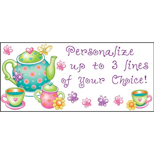 PERSONALIZED TEA TIME BANNER (18