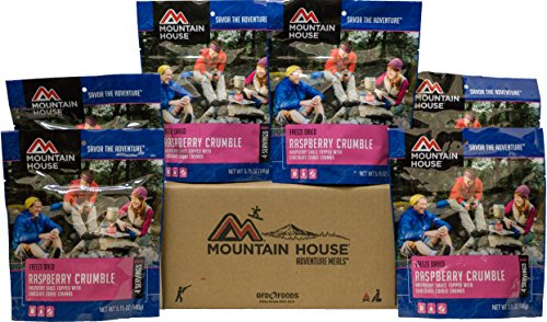 Mountain House Raspberry Crumble 6-Pack