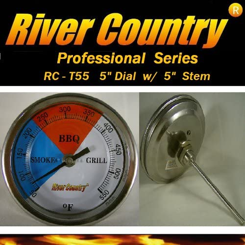 50~500 Degree Roast Barbecue  Smoker Grill Thermometer Temp Gauge Dia 3 yi