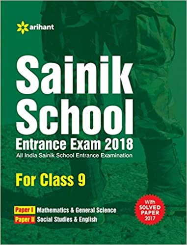sainik school entrance exam model paper class 9