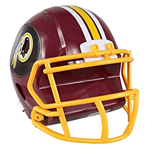 NFL Washington Redskins Abs Helmet Bank, Red, One Size