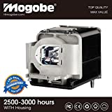 Mogobe For VLT-XD560LP Compatible projector lamp with housing Fit for Mitsubishi VLT-XD560LP, VLTXD560LP, XD560U, XD550U, XD365-EST, XD360-EST, WD570, WD390U-EST, WD385U-EST, WD380-EST projectors by
