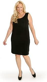 product image for Vikki Vi Women's Plus Size Short Shift Dress