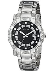 Bulova Mens 96B176 Crystal Watch