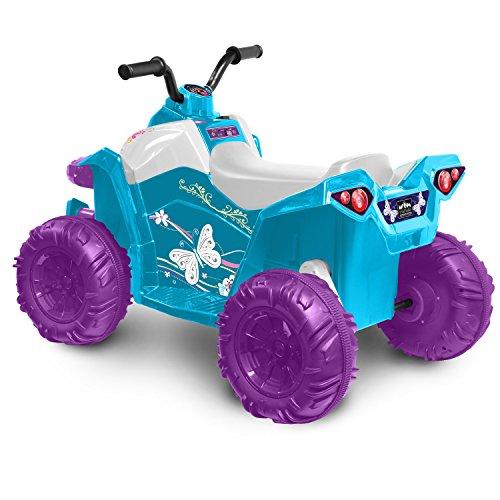 Kid Motorz Monster Quad in Blue (12V) JungleDealsBlog.com