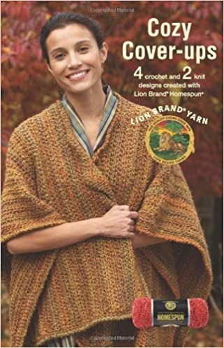 Cozy Cover Ups Leisure Arts 75280 Featuring Lion Brand Lion