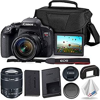Amazon.com : Canon EOS REBEL T7i EF-S 18-55 IS STM Kit ...