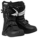 AXO unisex-child Drone Pee-Wee Boots (Black, K11)