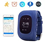 Juneo Smart Watch GPS Tracker for Children Two Way Communication GPS LBS AGPS